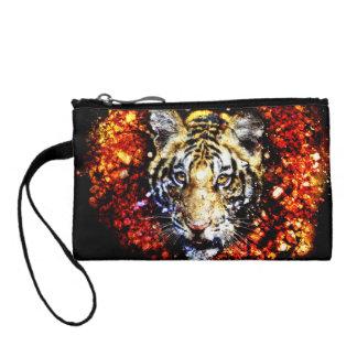 The tiger volcano coin purses
