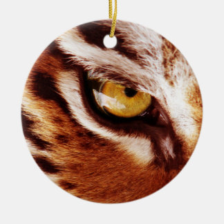 The Tiger's Eye Photograph Christmas Ornament