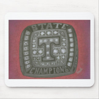 THE TIGERS RING MOUSE PAD