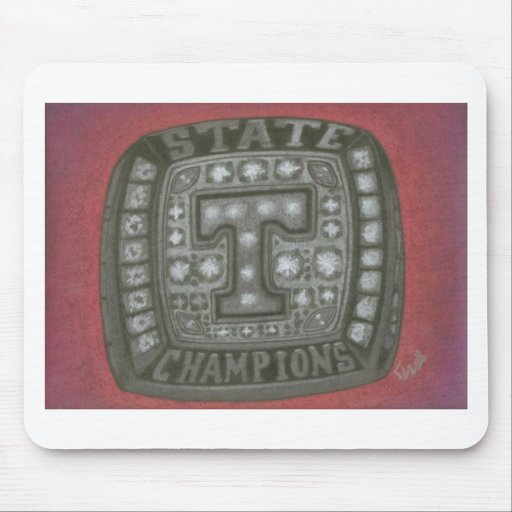 THE TIGERS RING MOUSEPADS