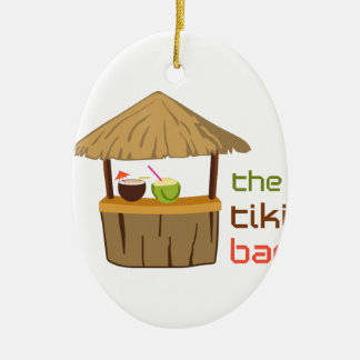 The Tiki Bar Christmas Ornament