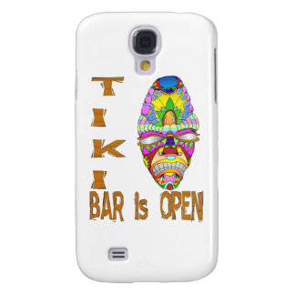 the TIKI BAR is OPEN Mask Galaxy S4 Case