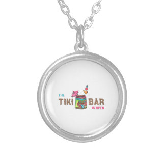 THE TIKI BAR IS OPEN NECKLACE