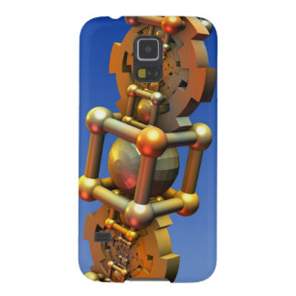 The time machine, cool 3-d abstract with gears case for galaxy s5