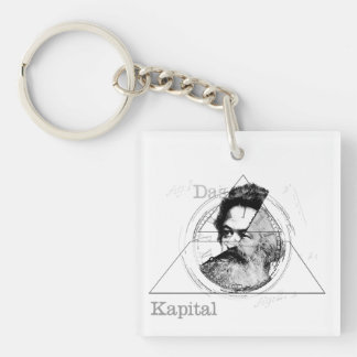 The Time of Marx Key Ring
