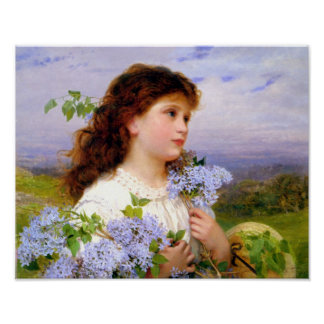 The Time of the Lilacs Fine Art Print