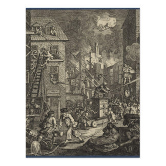 The Times' by William Hogarth Postcard