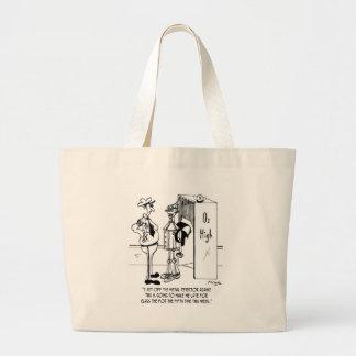 The Tin Man at Oz High Bags