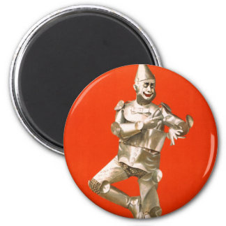 The Tin Man from The Wizard of Oz 6 Cm Round Magnet