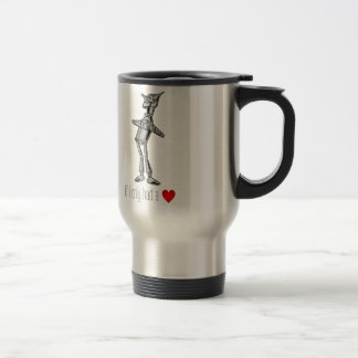 The Tin Woodsman If I Only Had a Heart Coffee Mugs