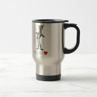 "The Tin Woodsman ""If I Only Had a Heart"" Travel Mug"