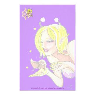 The Tiny Book fantasy art Stationery paper