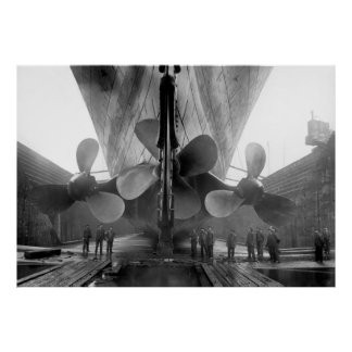 The Titanic Propellers Poster