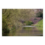 The Tiverton Canal, Devon, England Poster