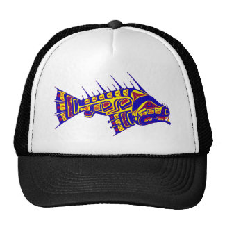 THE TLINGIT ONE TRUCKER HATS