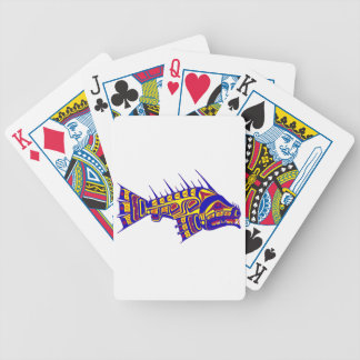 THE TLINGIT ONE BICYCLE POKER CARDS