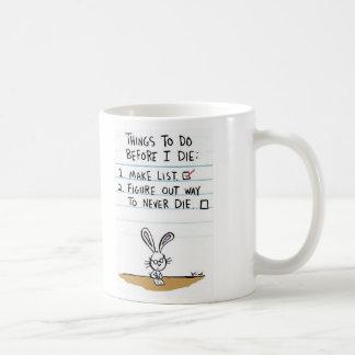 The 'To Do' List Coffee Mug