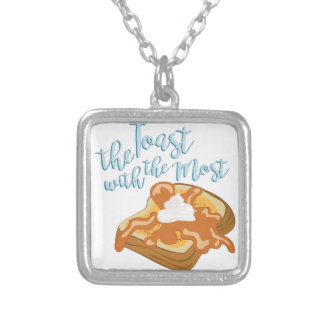 The Toast Silver Plated Necklace