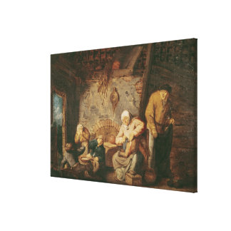 The Toilet Stretched Canvas Prints