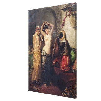 The Toilet in the Seraglio Gallery Wrap Canvas