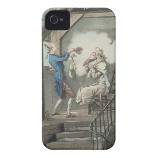The Toilet of an Attorney's Clerk, engraved by Phi Case-Mate iPhone 4 Case
