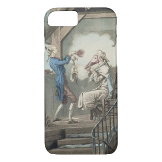 The Toilet of an Attorney's Clerk, engraved by Phi iPhone 8/7 Case