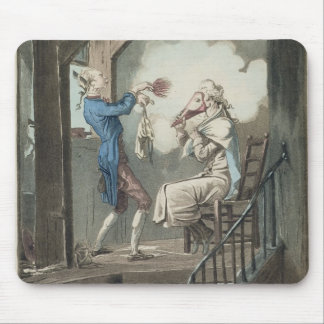 The Toilet of an Attorney's Clerk, engraved by Phi Mouse Mat