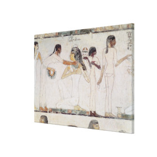The Toilet of Noblewomen Stretched Canvas Print