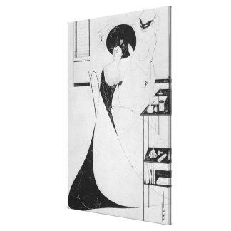 The Toilet of Salome Stretched Canvas Print