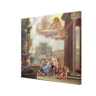 The Toilet of Venus, 18th century Gallery Wrap Canvas