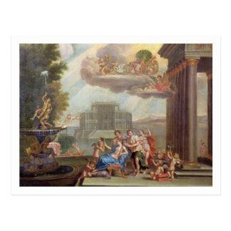The Toilet of Venus, 18th century Postcard