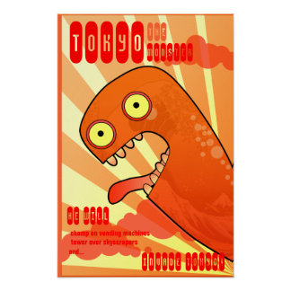 The Tokyo Monster Posters