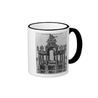 The Tomb of Elizabeth I, 1620 Ringer Mug