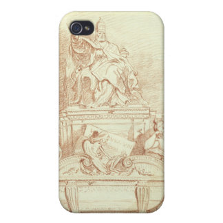 The Tomb of Pope Urban VIII (1568-1644) by Gianlor Case For The iPhone 4