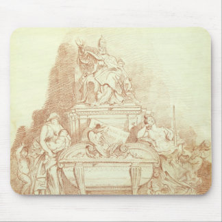 The Tomb of Pope Urban VIII (1568-1644) by Gianlor Mouse Pad