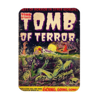 The Tomb of Terror Going Going Gone Rectangular Photo Magnet