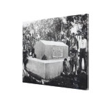 The Tomb of Tusitala Stretched Canvas Print