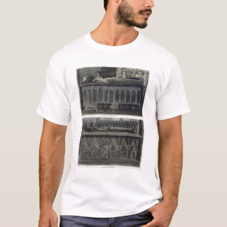 The Tombs of Queen Philippa and Queen Eleanor, pla T-Shirt