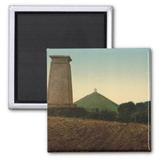 The Tombs, Waterloo, Belgium Square Magnet