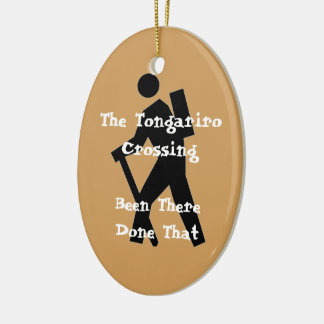 The Tongariro Crossing Christmas Ornament