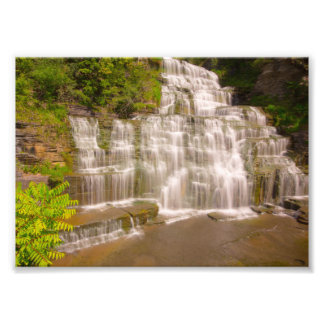 The top of Hector Falls, New York Photo Art