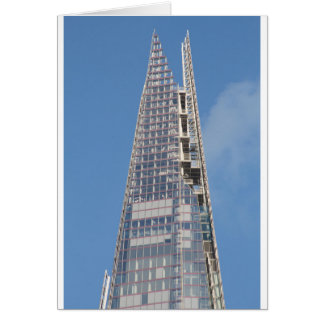 The Top of the Shard Greeting Card