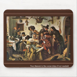 The Topsy-Turvy World By Steen Jan (Best Quality) Mouse Mat