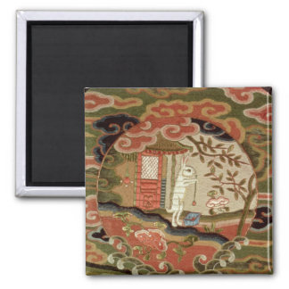 The Tortoise and the Hare, Edo Period Square Magnet