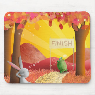 The Tortoise and the Hare - mouse mat