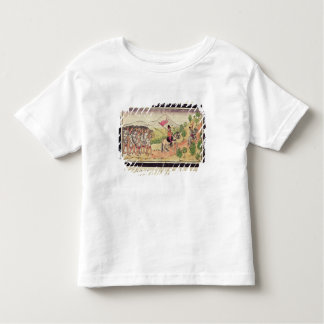 The Totonac Indians Helping the Conquistadors Tee Shirt