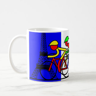 The Tour Arrives in Paris Coffee Mug