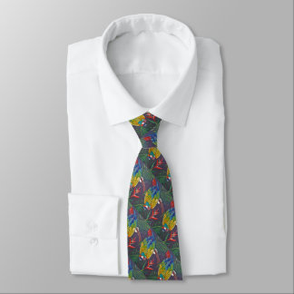 THE TOURIST TIE,  i Art and Designs, Cocuyo A&D Tie