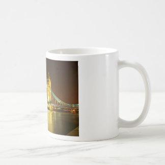 The Tower Bridge By Night Coffee Mugs