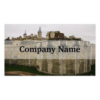 The Tower, London, Historical Travel Photograph Pack Of Standard Business Cards